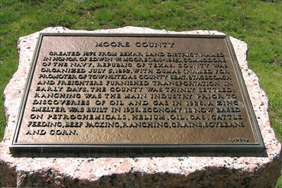 moore county historical marker