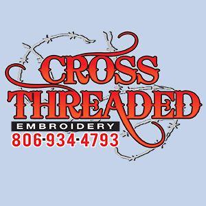Cross Threaded Embroidery